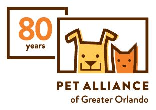 Pet Alliance Logo 80 years