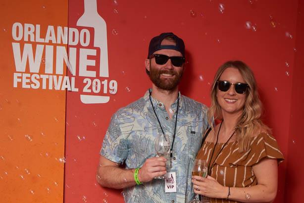 orlando wine festival 2019 sign